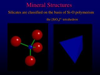 Mineral Structures