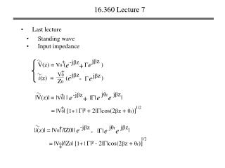 16.360 Lecture 7