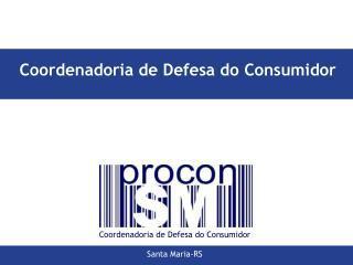 Coordenadoria de Defesa do Consumidor