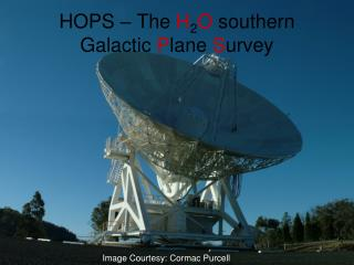 HOPS – The  H 2 O  southern Galactic  P lane  S urvey