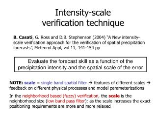 Intensity-scale verification technique