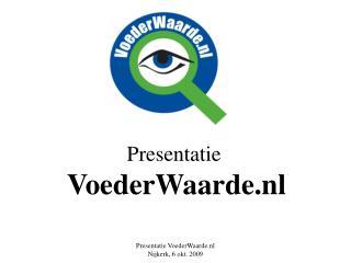 Presentatie VoederWaarde.nl