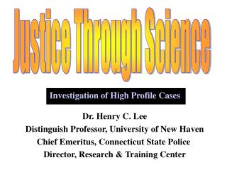 Justice Through Science