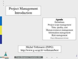 Project Management Introduction