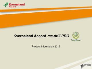 Kverneland Accord  mc-drill PRO