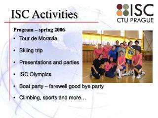 Program � spring 2006