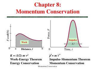 Chapter 8:  Momentum Conservation