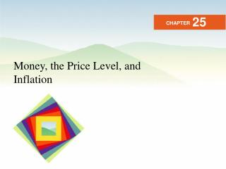 Money, the Price Level, and Inflation
