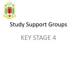 Study Support Groups