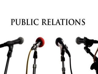 Today the role of public relations includes: