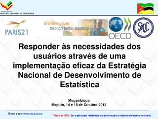 Moçambique Maputo, 14 e 15 de Outubro 2013