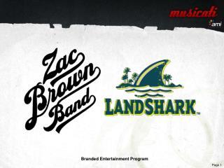 Branded Entertainment Program