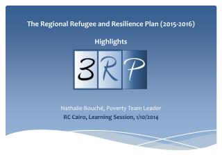 The Regional Refugee and Resilience Plan (2015-2016) Highlights
