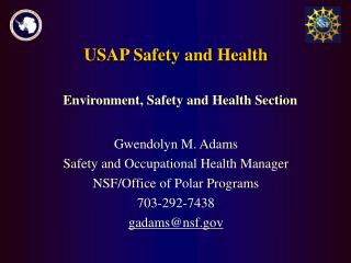 USAP Safety and Health