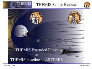 THEMIS Extended Phase = THEMIS baseline +  ARTEMIS