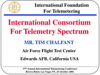 International Foundation          For Telemetering