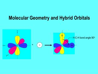 Molecular Geometry and Hybrid Orbitals