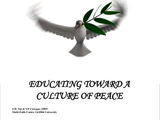EDUCATING TOWARD A  CULTURE OF PEACE S.H. Toh & V.F Cawagas (2005)