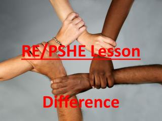 RE/PSHE Lesson