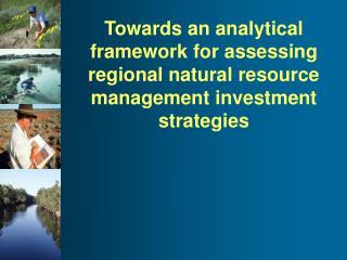 Context to developing a framework…