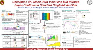 Generation of Pulsed Ultra-Violet and Mid-Infrared  Super-Continua in Standard Single-Mode Fiber