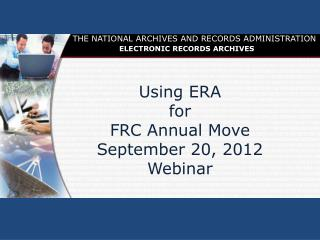 FRC Annual Move