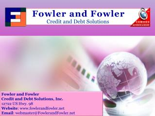 Welcome to Fowler and Fowler Credit Repair