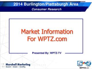 2014 Burlington/Plattsburgh Area Consumer Research