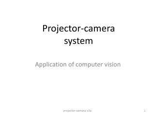 Projector-camera system