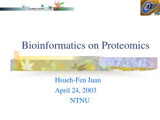 Bioinformatics on Proteomics