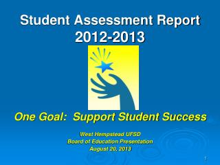 Student Assessment Report 2012-2013