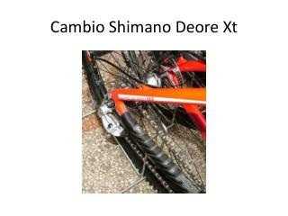 Cambio Shimano  Deore Xt