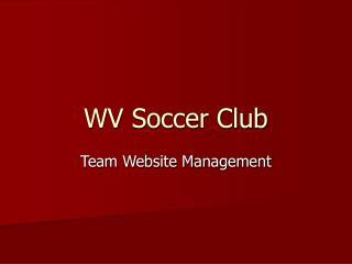 WV Soccer Club