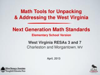 Next Generation Math Standards