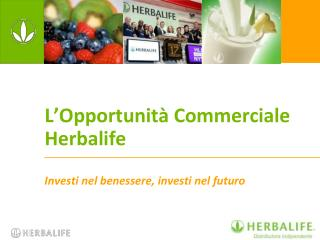 L Opportunit  Commerciale  Herbalife