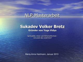 NLP-Masterarbeit
