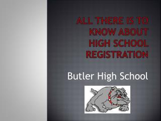 All There is to know about  High School Registration