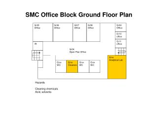 SMC Office Block Ground Floor Plan