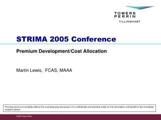 STRIMA 2005 Conference