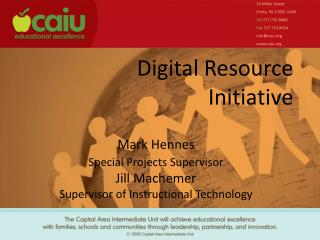 Digital  Resource Initiative