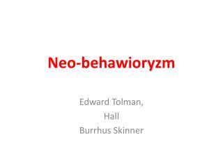 Neo -behawioryzm
