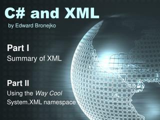 C# and XML