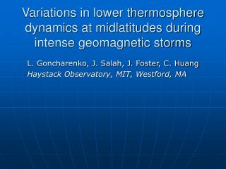 Variations in lower thermosphere dynamics at midlatitudes during intense geomagnetic storms