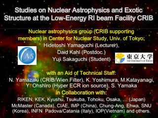 Studies  on Nuclear Astrophysics and Exotic Structure at the  Low-Energy  RI beam Facility  CRIB