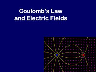 Coulomb�s Law and Electric Fields
