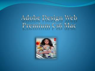 Adobe Design Web Premium Cs6 Mac