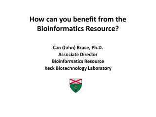 How can you benefit from the Bioinformatics Resource?
