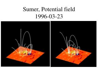 Sumer, Potential field  1996-03-23