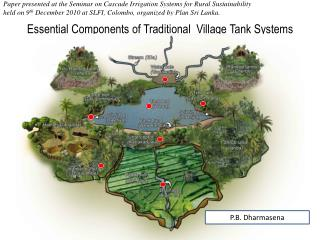 Essential Components of Traditional  Village Tank Systems
