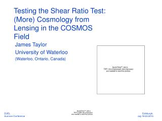 Testing the Shear Ratio Test:  (More) Cosmology from Lensing in the COSMOS Field